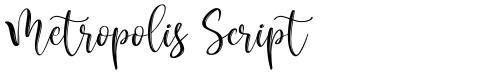 Metropolis Script
