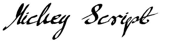 Mickey Script