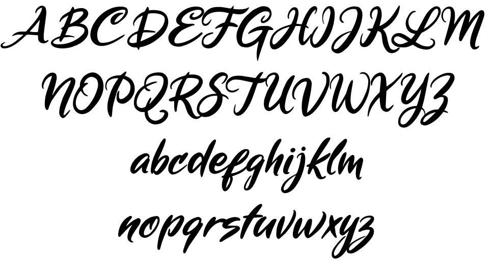 Mickey Steward шрифт