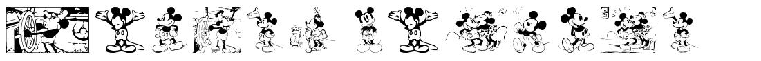 Mickey Vintage font