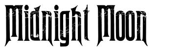 Midnight Moon font