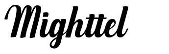 Mighttel font