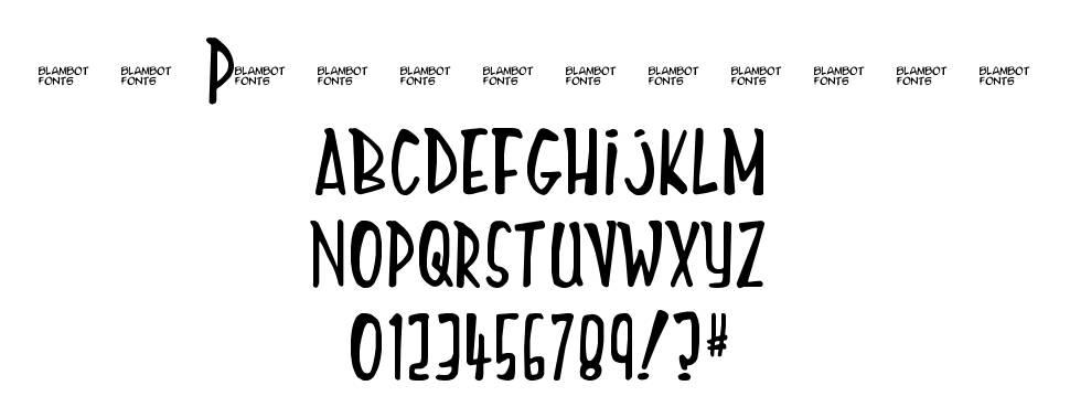 Mighty Tomato font