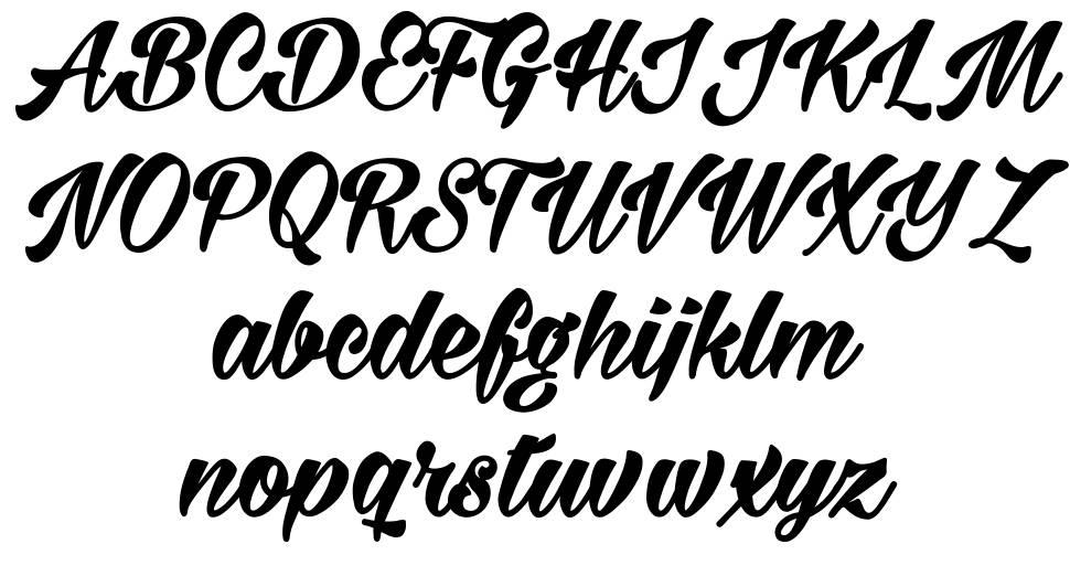 Milasian font