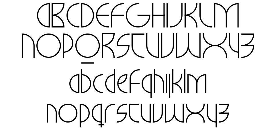 Milkyway Hotel font