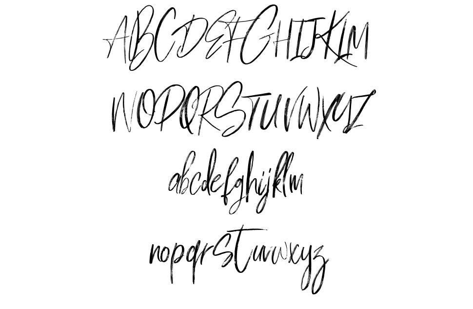 Milles Handwriting font