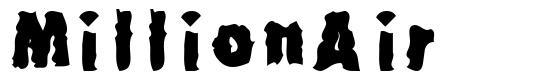 MillionAir font