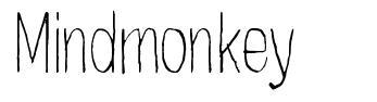 Mindmonkey schriftart