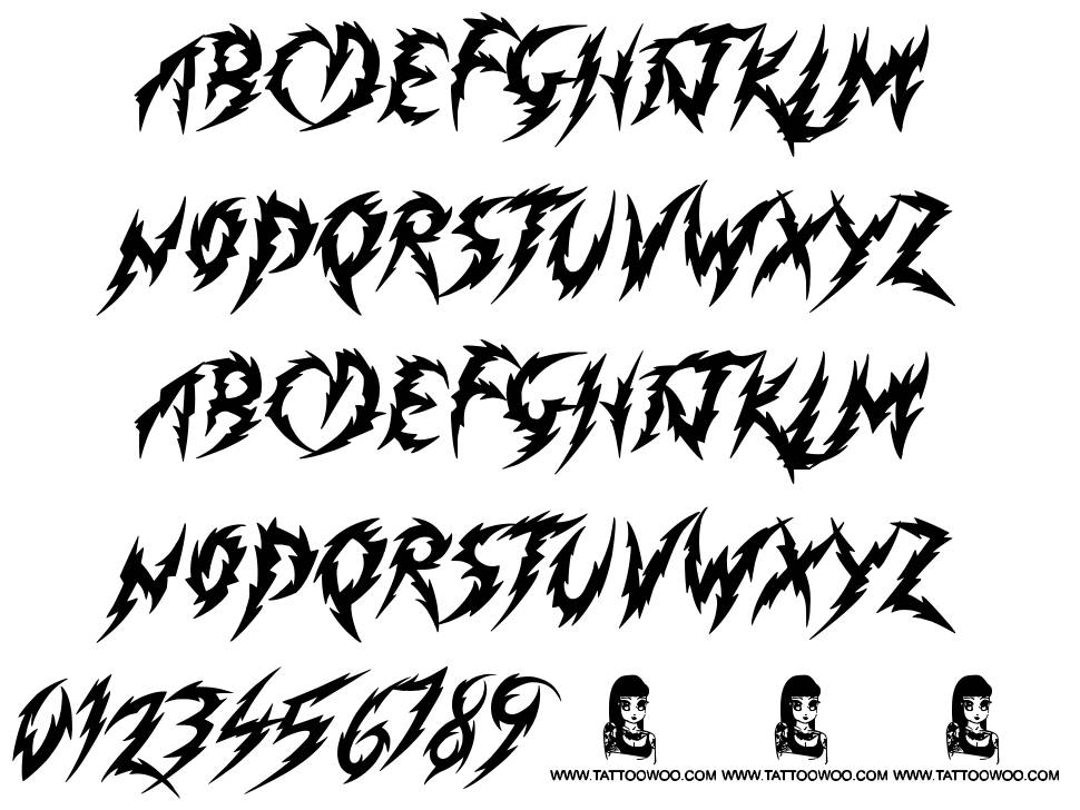 Minimum Loss font