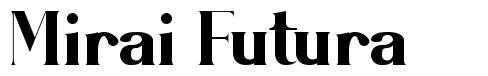 Mirai Futura font