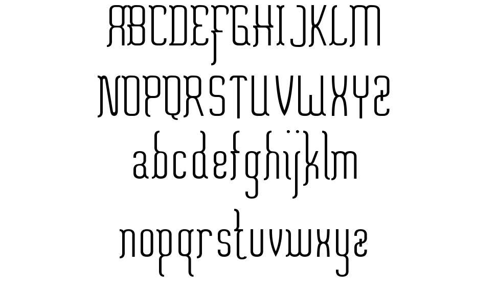 Misfortune font