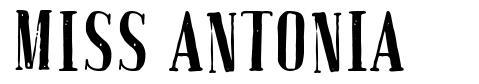 Miss Antonia font