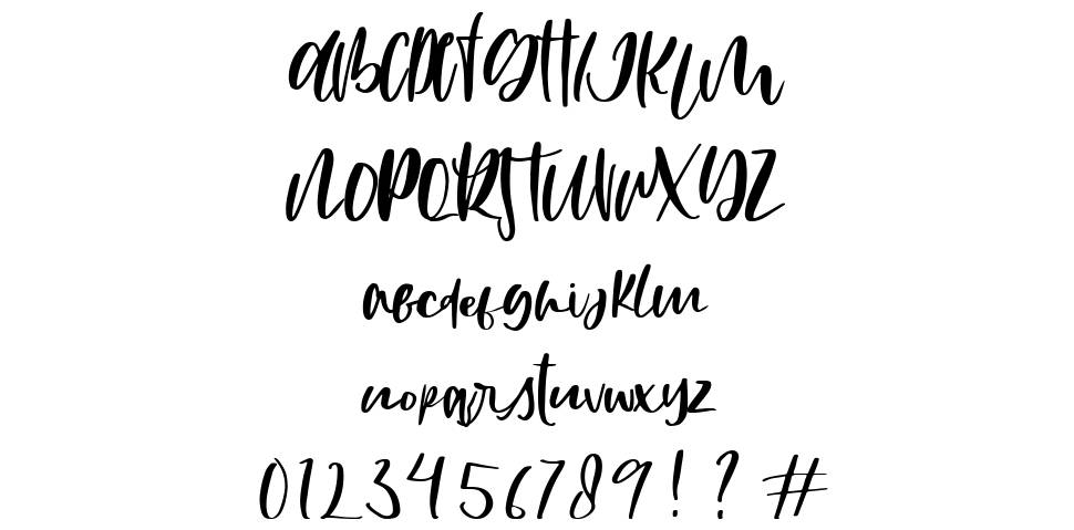Mistake font