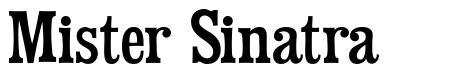 Mister Sinatra font