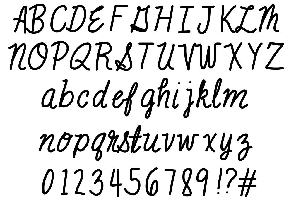 Mix Scribble font