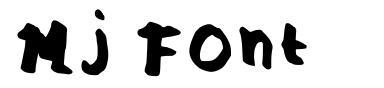 Mj Font