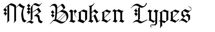 MK Broken Types