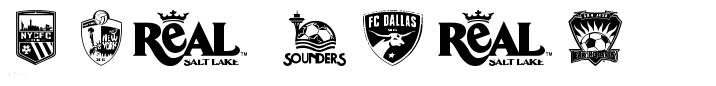 MLS West font