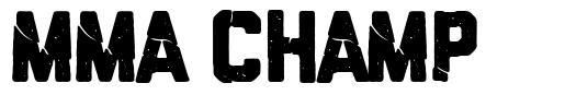 MMA Champ font