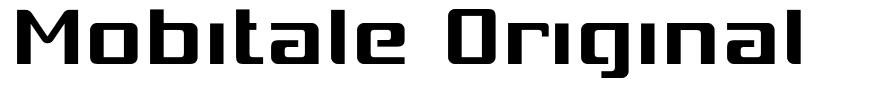 Mobitale Original font