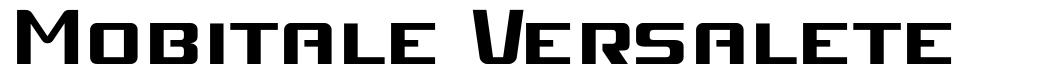 Mobitale Versalete font
