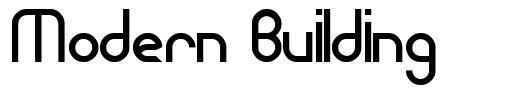 Modern Building font