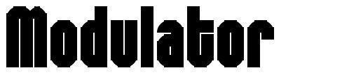 Modulator font
