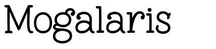 Mogalaris font