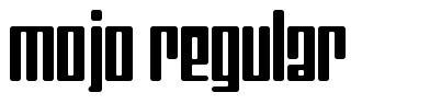 Mojo Regular font