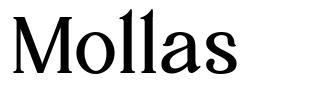 Mollas フォント