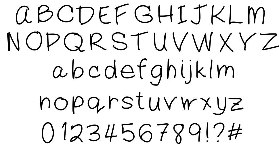 Mommy font