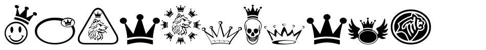 Monarchbats 字形