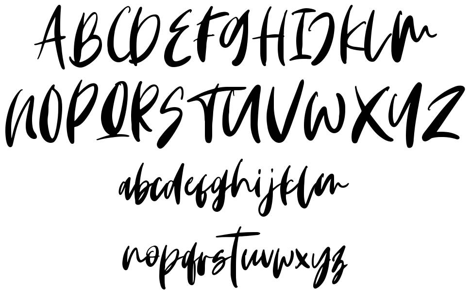 Monday Vibes font