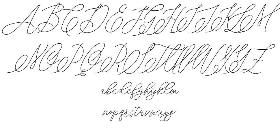 Mondayline шрифт