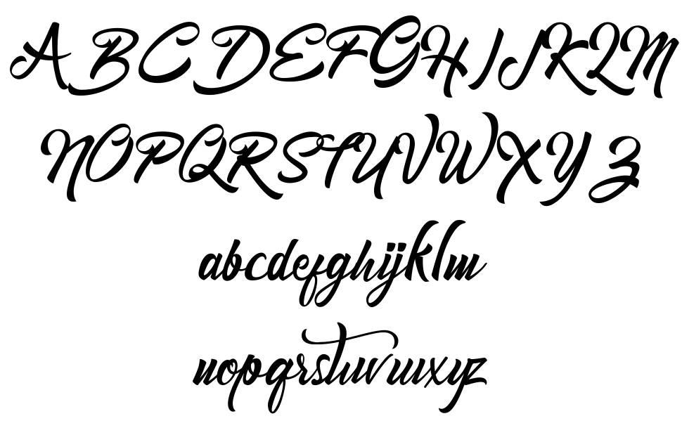 Mondena フォント