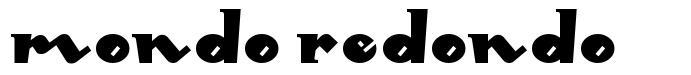 Mondo Redondo font