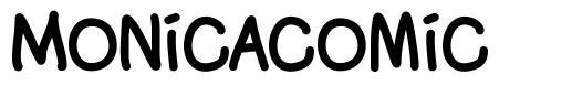Monicacomic font