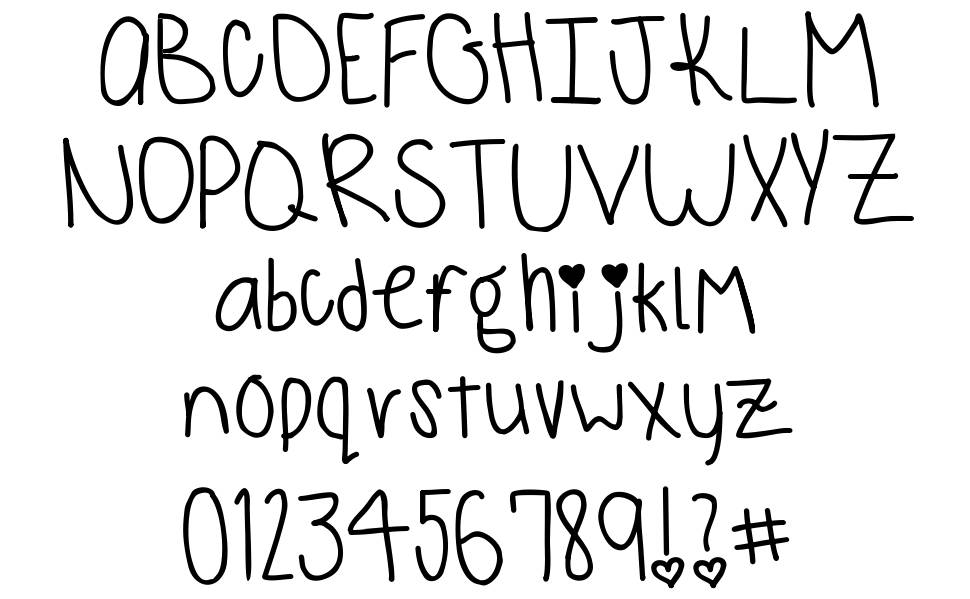 Monkeys and Bananas font