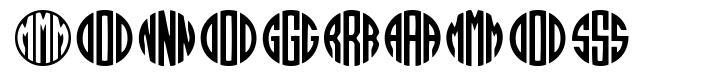 Monogramos font