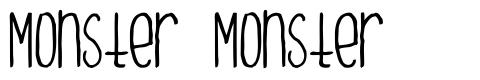 Monster Monster font