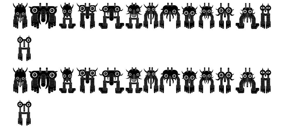 Monstero font