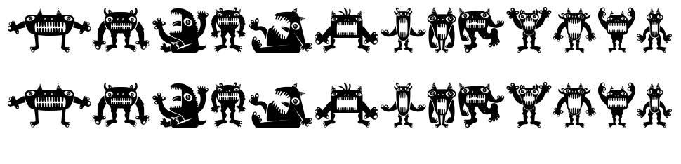 Monstra font