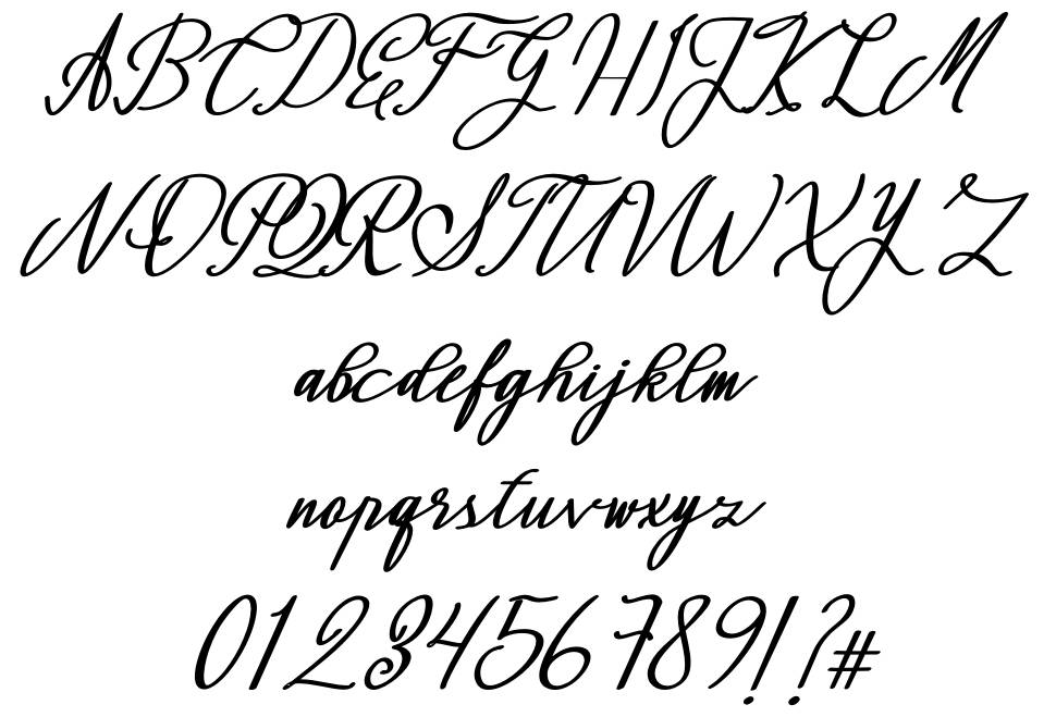 Montapallier font