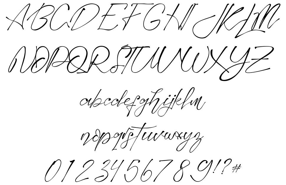 Montelly font