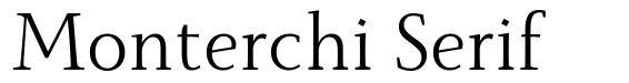 Monterchi Serif