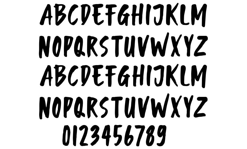 Monthey font
