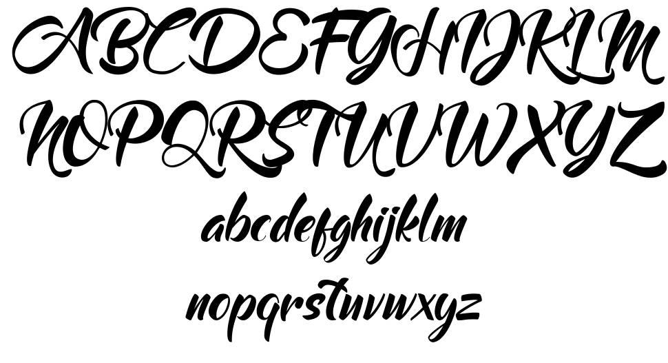 Mood Booster font