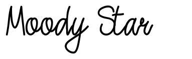 Moody Star font