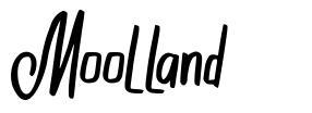 Moolland schriftart