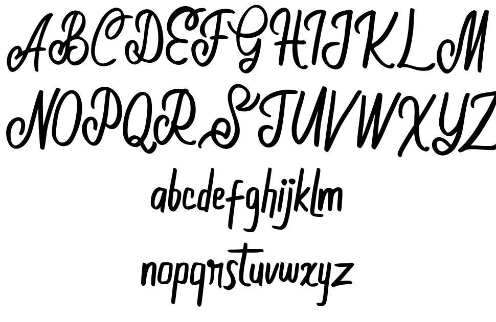 Moolland font